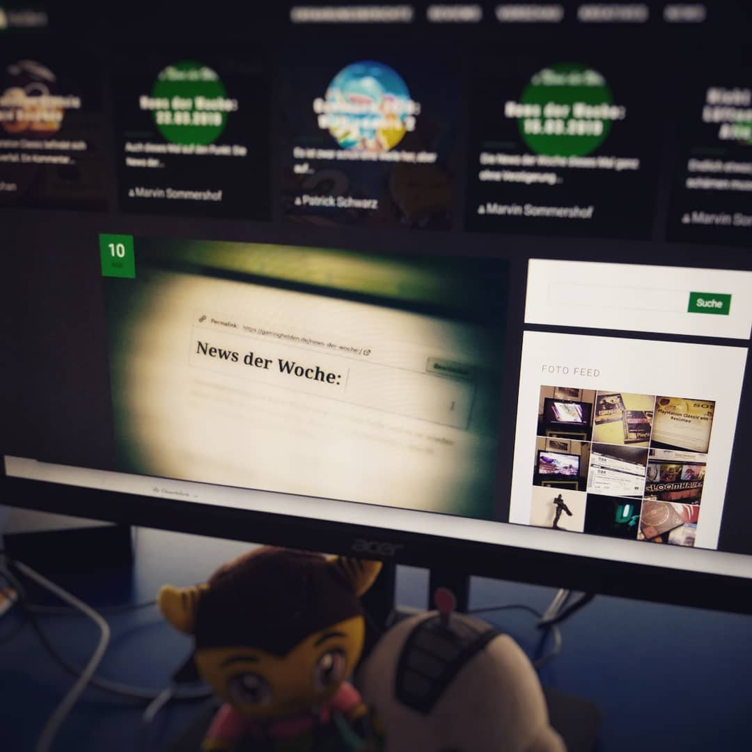 Das neue Layout von gaminghelden.de ist online. Schaut vorbei. #gaminghelden ?? ?