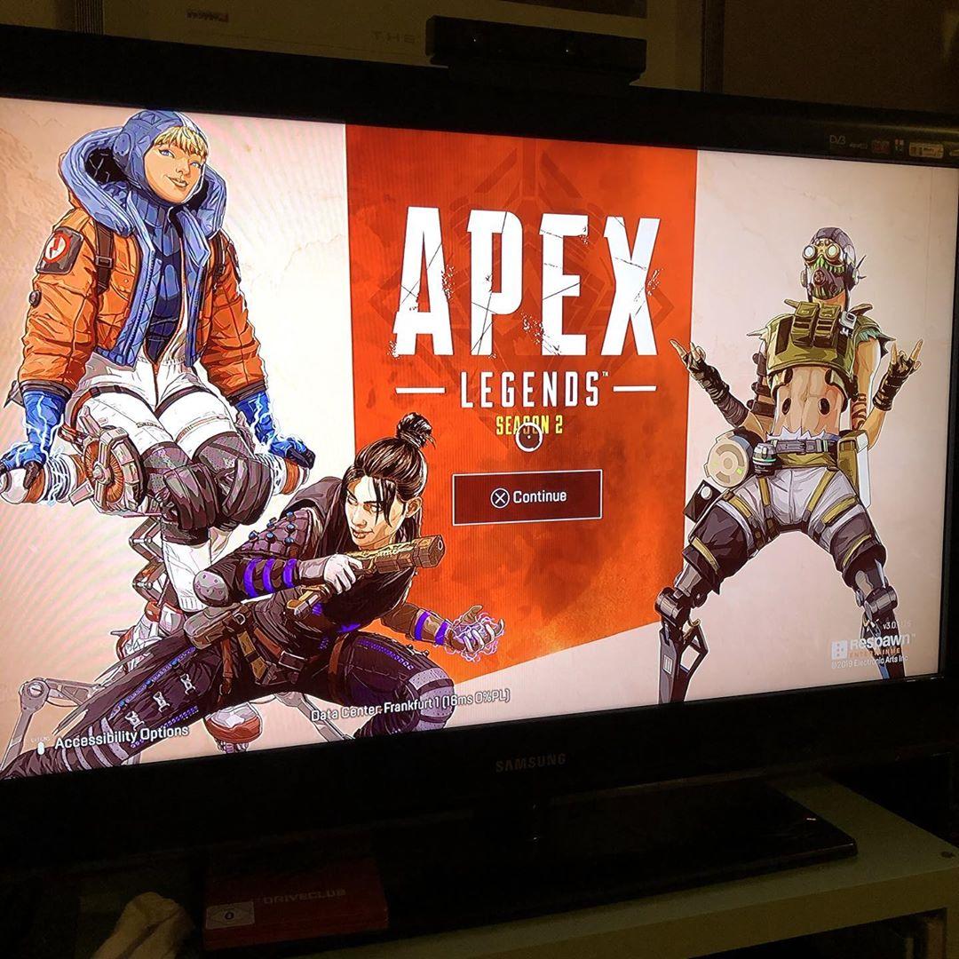Heute ein bisschen Apex Legends Season 2 ausprobiert, es macht Spaß ohne Ende, wenn man nicht Fehlermeldungen bekommt. #apexlegends #season2 #ps4 #serverconnectionproblems
