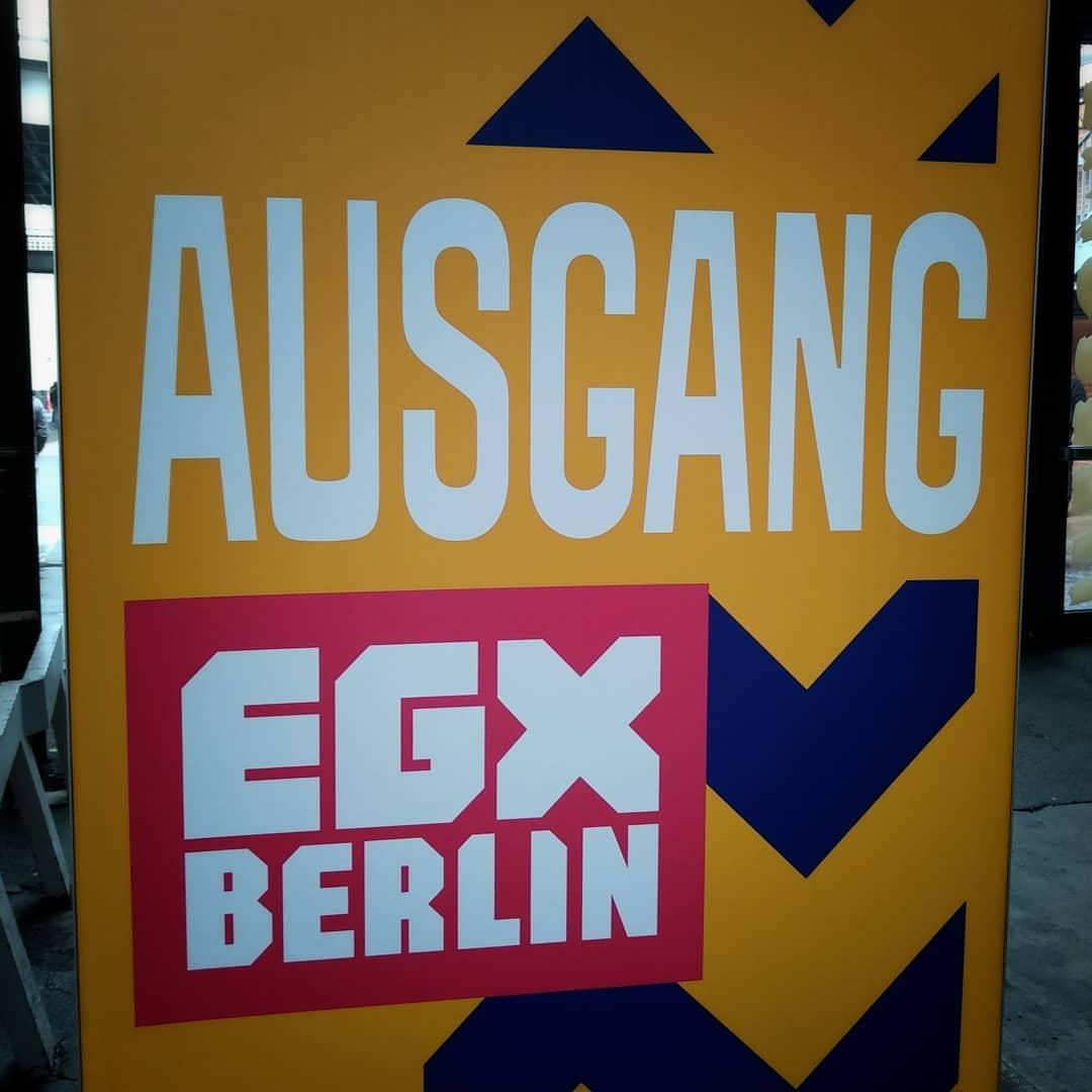 Tschööö #egx2019 bis bald. ?? @egxberlin @egxofficial