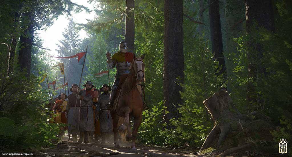 Wälder in Kingdom Come sind stark befüllt.