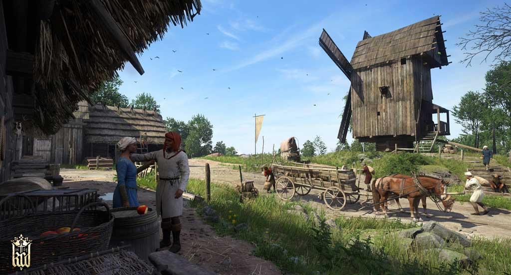 Mühlen sind in Kingdom Come zahlreich vorhanden