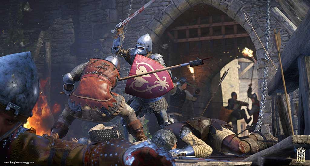 Auch in Burgen wird in Kingdom Come gekämpft