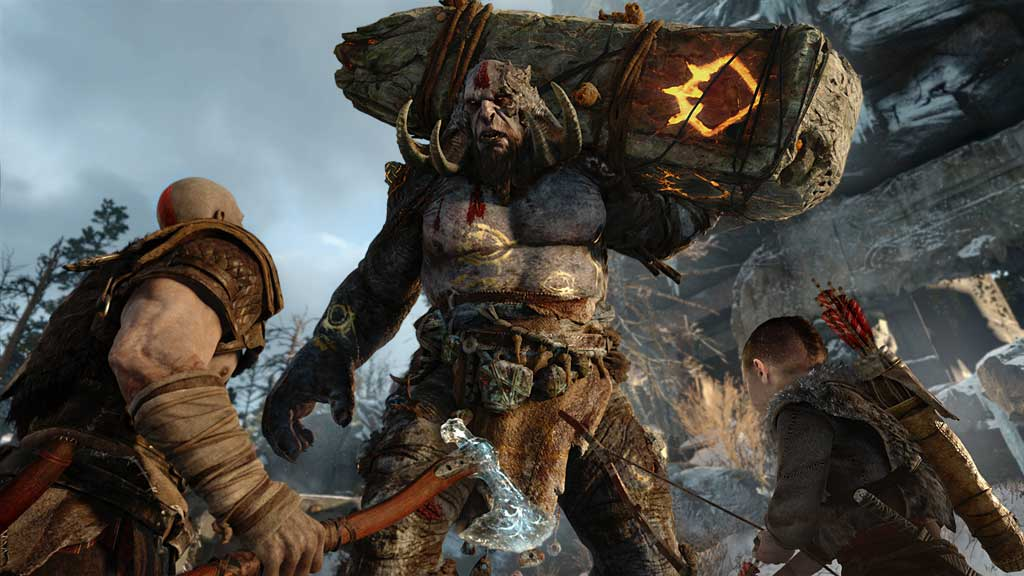 In God of war kämpft man gegen Figuren aus der Nordischen Mythologie