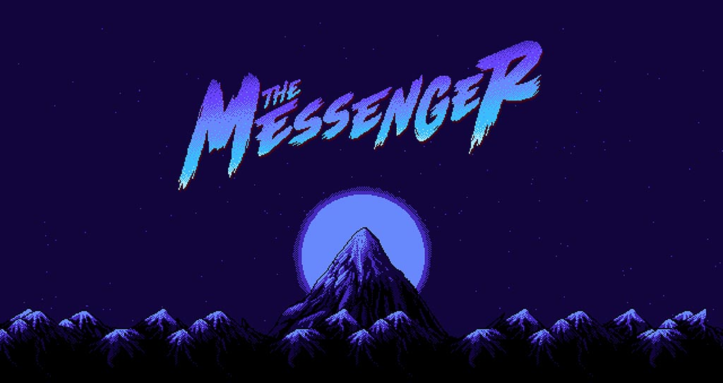 The Messenger Title Screen