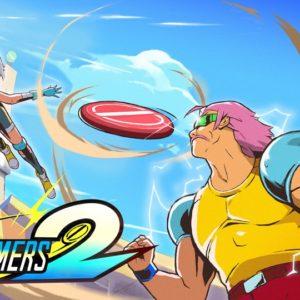 Windjammers 2 Titelbild