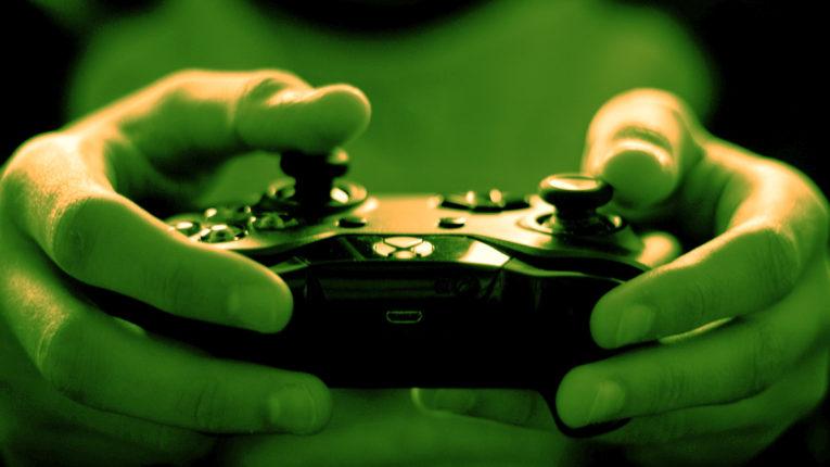 Xbox Controller der benutzt wird