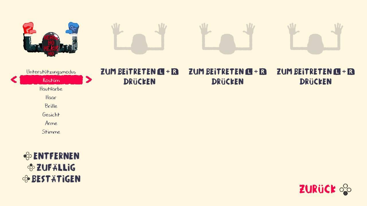 Im Spiel können bis zu 4 Spieler teilnehmen